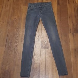 Seven for all mankind size 26 gwenevere skinny